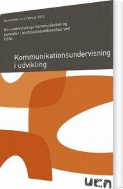 kommunikationsundervisning i udvikling - bog