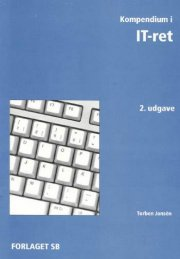 kompendium i it-ret - bog