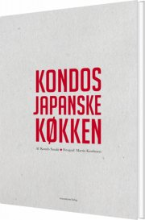 kondos japanske køkken - bog