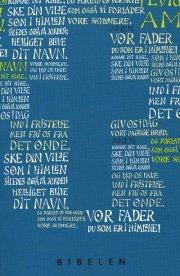 konfirmandbibel, blå udgave - bog