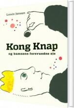 kong knap og bamsens forsvundne øje - bog