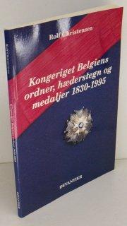 kongeriget belgiens ordner, hæderstegn og medaljer 1830-1995 - bog