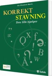 korrekt stavning. den lille hjælper pk. a 10 stk - bog