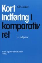kort indføring i komparativ ret - bog