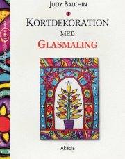 kortdekoration med glasmaling - bog