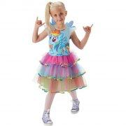 my little pony kostume - rainbow dash - 3-4 år - Udklædning
