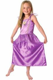 rapunzel kostume - 7-8 år - Udklædning