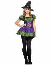 kostume / udklædning leg avenue - junior heksekostume - medium-large - Udklædning Til Voksne