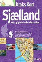 kraks kort sjælland - bog