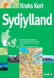 kraks kort sydjylland - bog