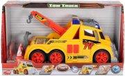 legetøjs kranbil med lyd og lys - 33 cm - Køretøjer Og Fly