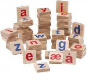 krea magnet bogstaver i træ til magnettavle - Kreativitet