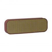kreafunk agroove transportabel trådløs bluetooth højtaler - bordeaux - Tv Og Lyd