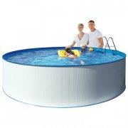 kreta badebassin / svømmebassin med pumpe - 460 x 90 cm - Bade Og Strandlegetøj
