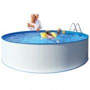 kreta badebassin / svømmebassin med pumpe - 350 x 90 cm - Bade Og Strandlegetøj