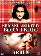 krigsklassikere - børn i krig - anne frank / broen - DVD