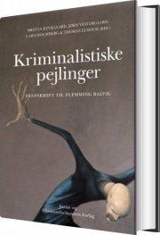 kriminalistiske pejlinger - bog