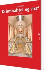 kriminalitet og straf - bog