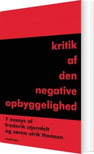 kritik af den negative oyggelighed - bog