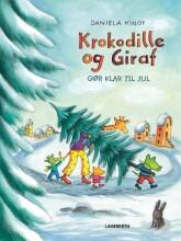krokodille og giraf gør klar til jul - bog