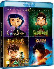 coraline // kubo and the two strings // paranorman // æsketroldene - Blu-Ray