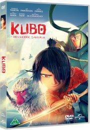 kubo and the two strings / kubo den modige samurai - DVD