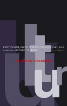kultur og forståelse - bog