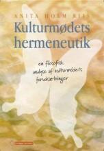 kulturmødets hermeneutik - bog