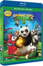 kung fu panda 3  - 3D + 2D Blu-Ray