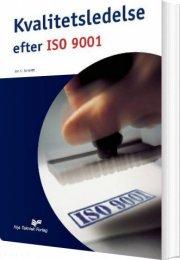 kvalitetsledelse efter iso 9001 - bog