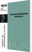 kvan 104: undervisningens indhold - bog