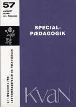 kvan 57 - specialpædagogik - bog