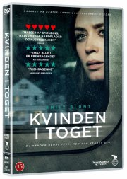 kvinden i toget / the girl on the train - DVD