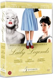 lady legends - monroe / garland / hepburn - DVD