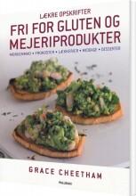 lækre opskrifter, fri for gluten og mejeriprodukter - bog