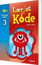 lær at kode 3, elevbog/web - bog