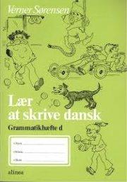 lær at skrive dansk, grammatikhæfte d - bog