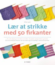 lær at strikke med 50 firkanter - bog