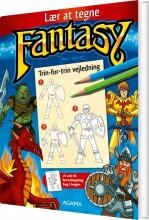lær at tegne fantasy - bog