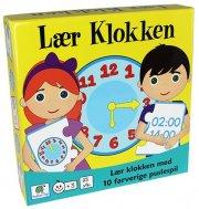 lær klokken spil - Brætspil
