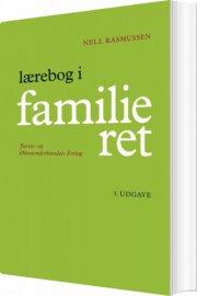 lærebog i familieret - bog