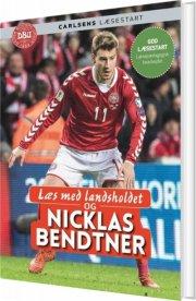 læs med landsholdet og nicklas bendtner - bog