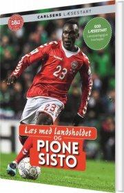 læs med landsholdet og pione sisto - bog