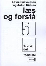 læs og forstå 5, 1-3 facitliste - bog