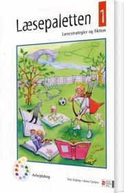læsepaletten 1, arbejdsbog - bog