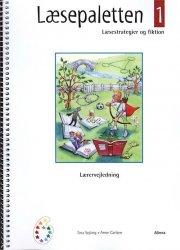 læsepaletten 1, vejledning - bog