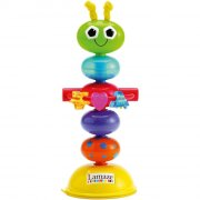 lamaze - bøjelig orm med sugekop - Babylegetøj