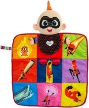 lamaze legemåtte - de utrolige - jack jack 2-i-1 bog & legemåtte - Babylegetøj