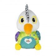 lamaze aktivitetslegetøj - papegøjen petey - Babylegetøj