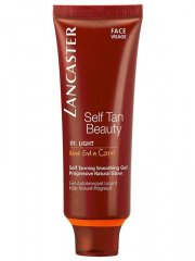 lancaster selvbruner / selv bruner - self tan beauty face gel - 01 light - Hudpleje